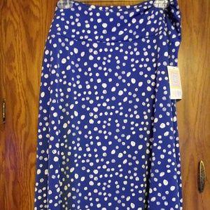 NWT Lularoe sz 3xl Azure Skirt